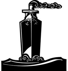 Tall Ship vector image vector image