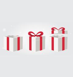 a gift box vector image