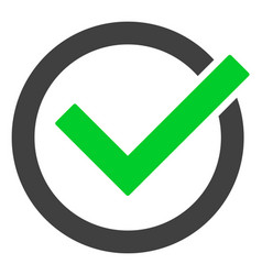 accept tick icon vector image