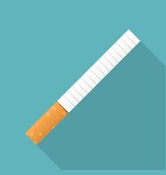 cigarette icon vector image
