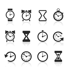 Hours an icon2 vector image