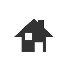 house icon design template isolated vector image