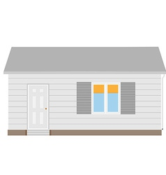 New cottage vector image
