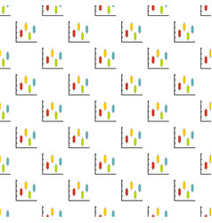 new diagram pattern seamless vector image