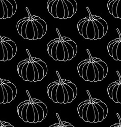 Pumkins pattern vector