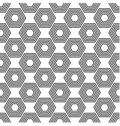 seamless wallpaper pattern geometric background vector image