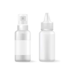 Spray bottles collection vector