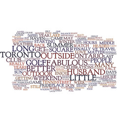The joys of summer text background word cloud vector