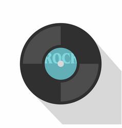 vinyl icon flat style vector image