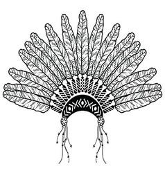 Headdress vector image