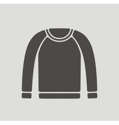 Jumper for men icon on background vector image vector image