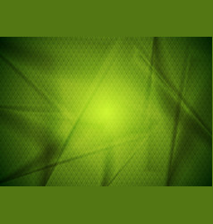 Abstract bright green tech modern background vector