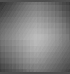 Abstract grey triangle background vector