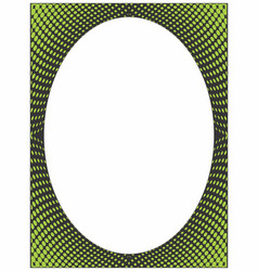 Border twisted dots 1 vector