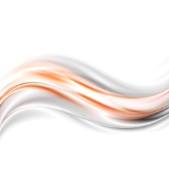 Bright glow waves background vector