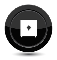 Button with safe vector image