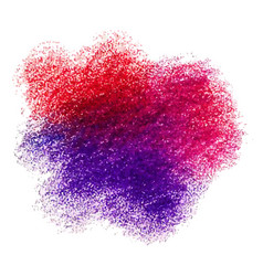 Colorful crayon scribble texture stain isolated vector