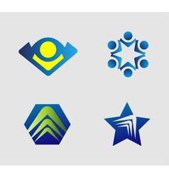 Logo Design elements set vector image