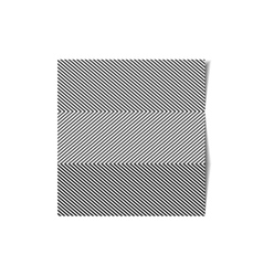 Striped sheet of paper vector image vector image