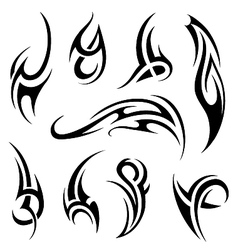Tribal art vector image
