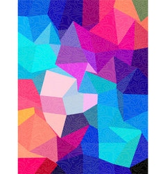 Square background with free line texture vector image vector image