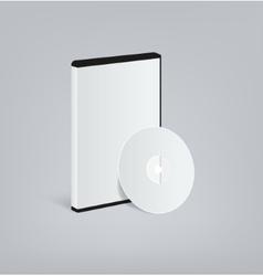 DVD blank vector image vector image