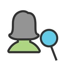 Find Female Profile vector