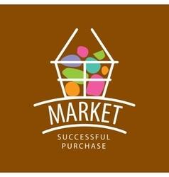 Logo market vector