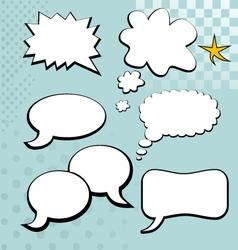 Speech bubble element vector