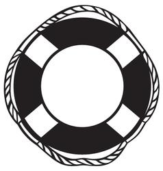 Symbol lifebuoy vector