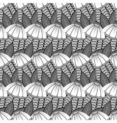 tile flower pattern vector image vector image