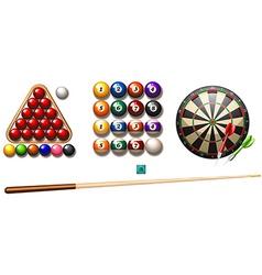 Pub games vector image vector image
