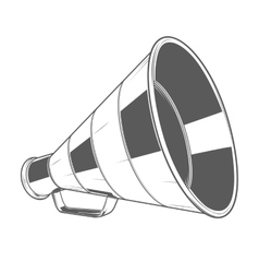 Vintage Megaphone vector image vector image