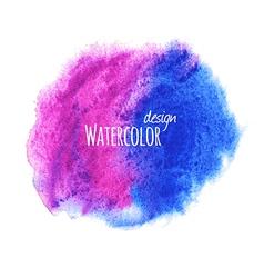 Watercolor set vector image vector image