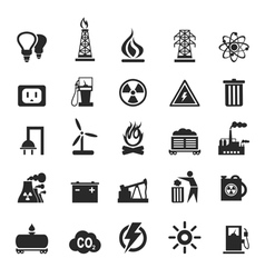 Industrial icons3 vector image vector image