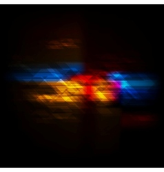 Dark colorful technical design vector image