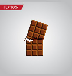 isolated dessert flat icon wrapper element vector image