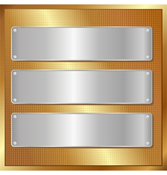 panel banners vector image