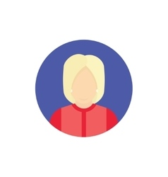 Presidential candidate Icon Usa election 2016 vector