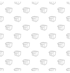 store pattern seamless vector image