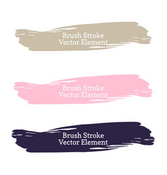 abstract watercolor grunge brush vector image