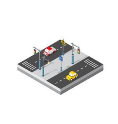 City street boulevard vector
