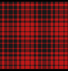 flannel seamless pattern vector image