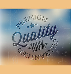 retro premium quality detailed stamp vector image