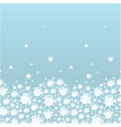 shiny diamonds horizontal seamless pattern vector image