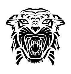 tiger 0015 vector image