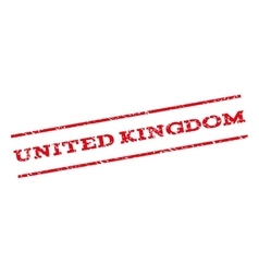 United Kingdom Watermark Stamp vector