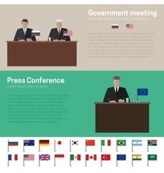 World Politics vector image
