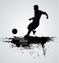 football player vector image vector image