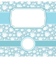 Set of frames on shiny diamonds seamless pattern vector image